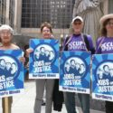 Action Against the TPP at Bill Foster