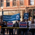 Rauner protest March 6th 2015